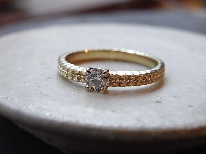 月桂樹 婚約指輪