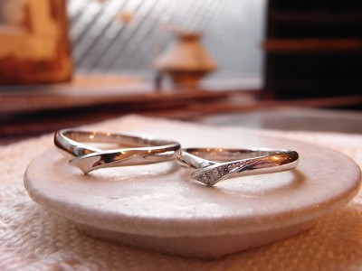 結婚指輪 リボン