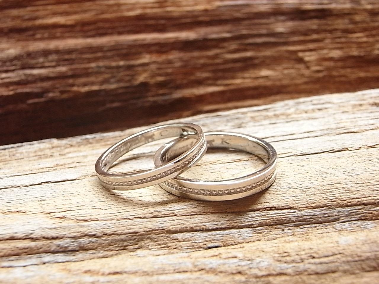 ネコ 刻印 指輪