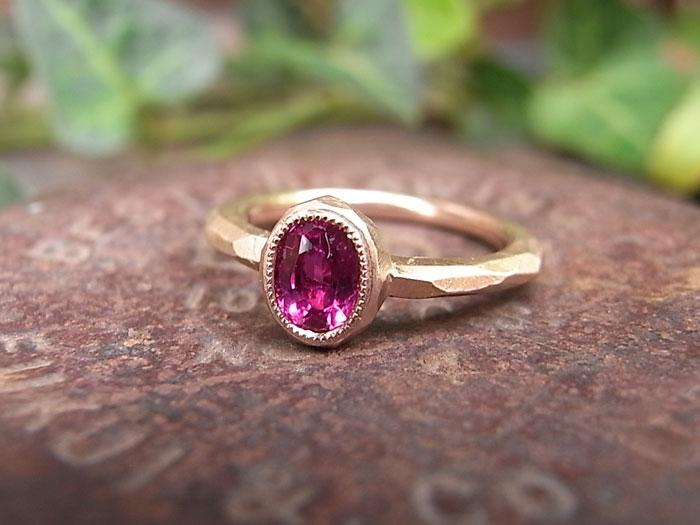 ルビー ミル 指輪