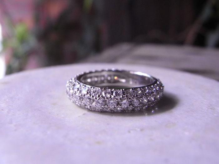 パヴェ 指輪