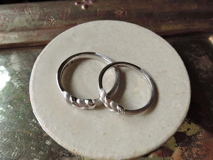 結婚指輪 結び