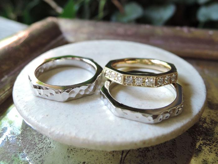 8角形 指輪