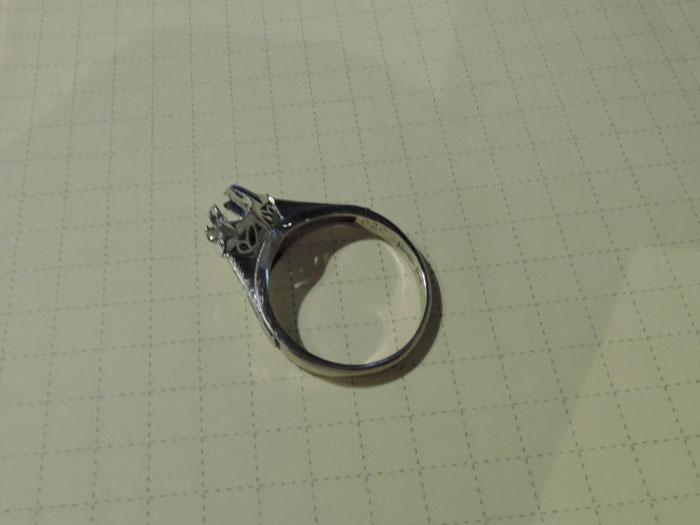 指輪 リフォーム前