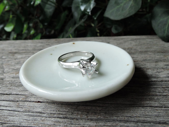 立爪ダイヤ 作り変え