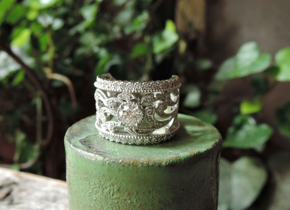 ダイヤ 指輪 リメイク