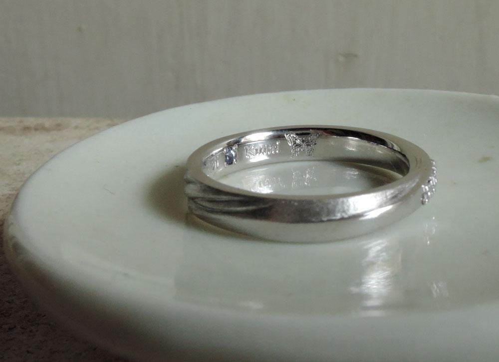 2つのデザイン 結婚指輪