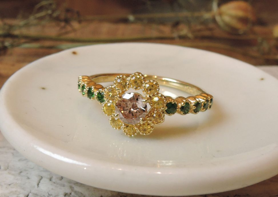 ひまわりの指輪