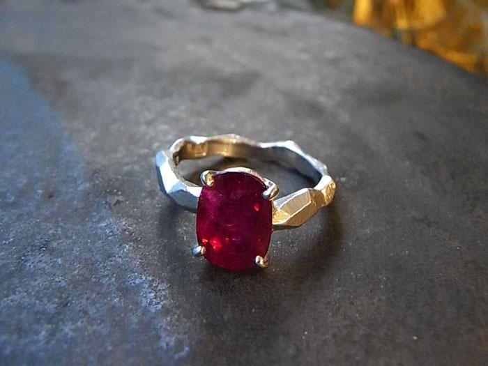 ルビー 指輪 リフォーム