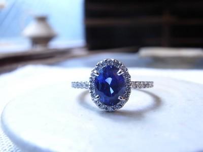 サファイヤ 指輪 福岡