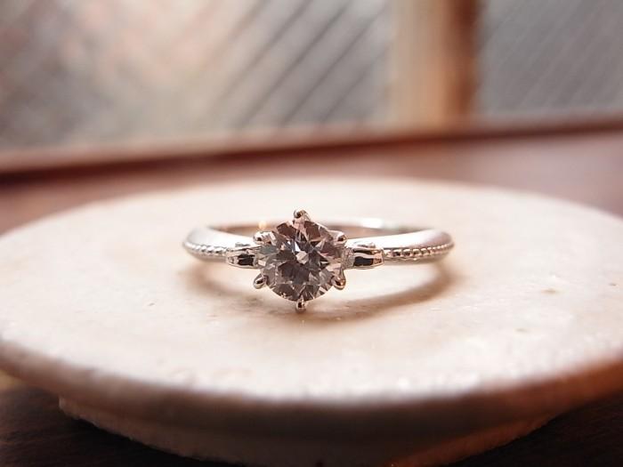婚約指輪 オリジナル