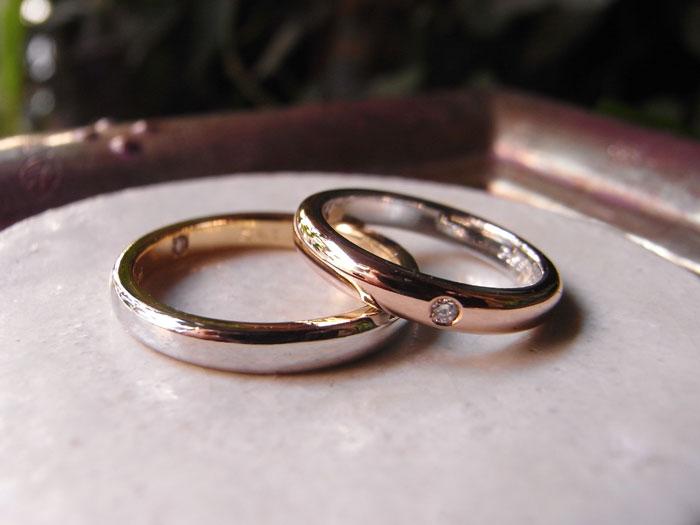 コンビ 結婚指輪