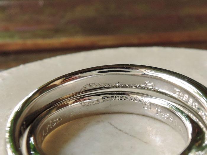 刻印 結婚指輪 福岡