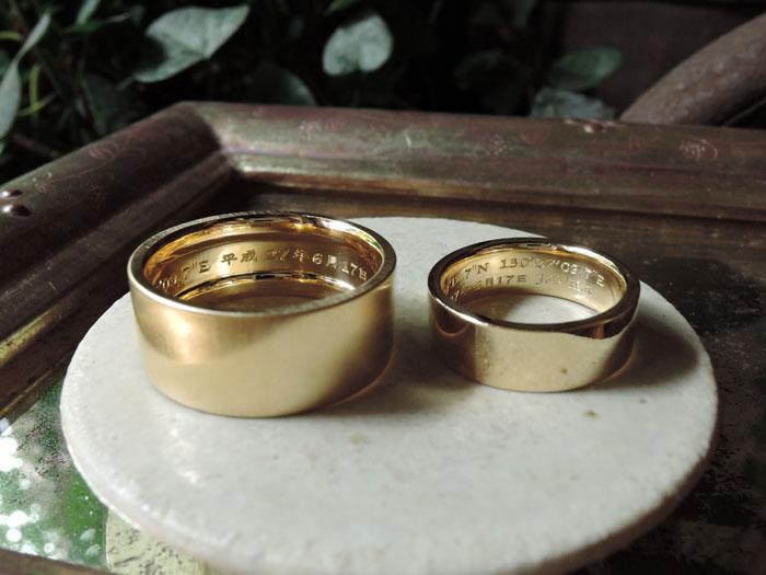 幅広 結婚指輪