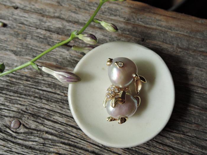 うさぎ 真珠