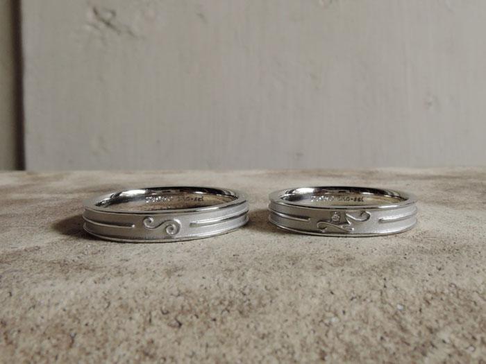イニシャル 結婚指輪 福岡
