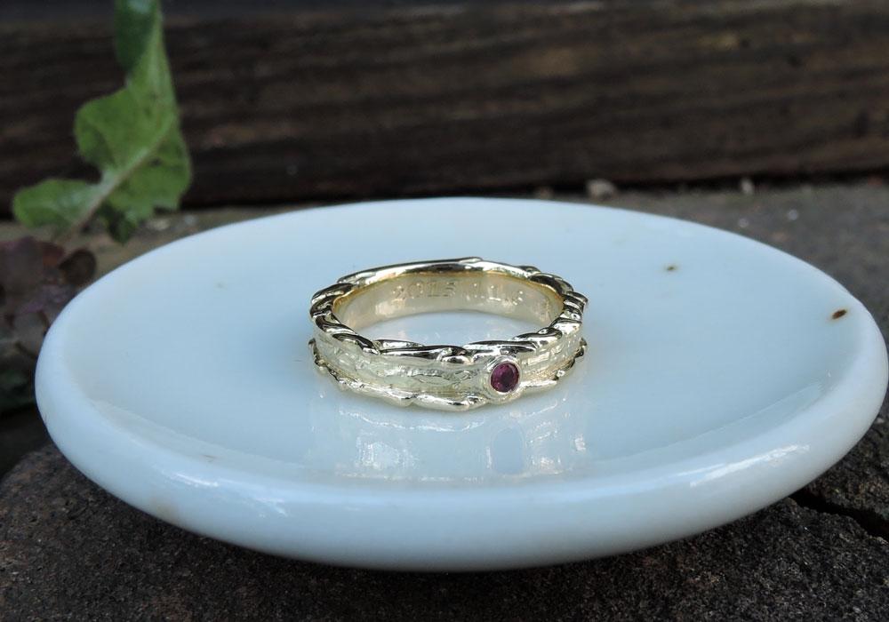 ベビーリング 結婚指輪とおそろい