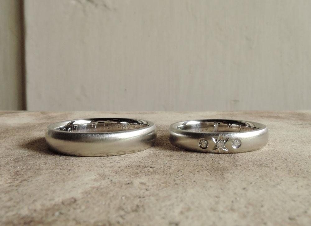 星 結婚指輪